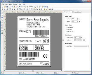 CodeX Barcode Label Designer 5.1 Bureautique