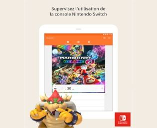 Contrôle parental Nintendo Switch ios Sécurité & Vie privée