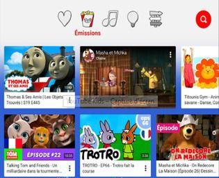 YouTube Kids iOS Maison et Loisirs