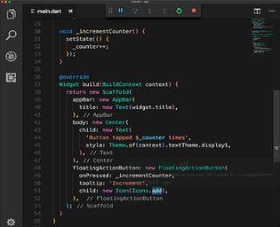 Flutter Programmation