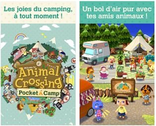 Animal Crossing: Pocket Camp iOs Jeux