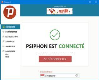 Psiphon Sécurité & Vie privée