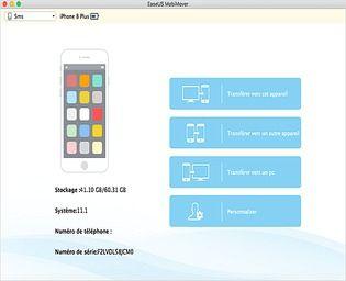 EaseUS MobiMover Free for Mac Utilitaires