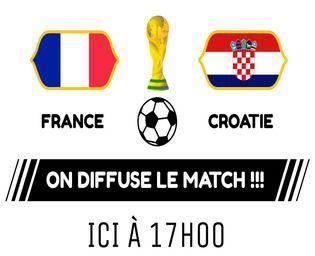 Affiches de diffusion des finales de la Coupe du Monde Maison et Loisirs