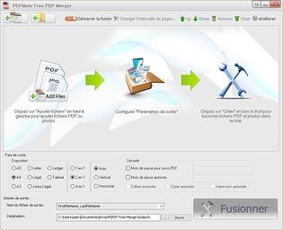 PDFMate Free PDF Merger  Bureautique
