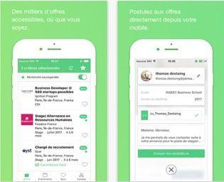 JobTeaser Android Maison et Loisirs
