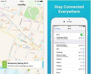 Instabridge iOS Réseau & Administration