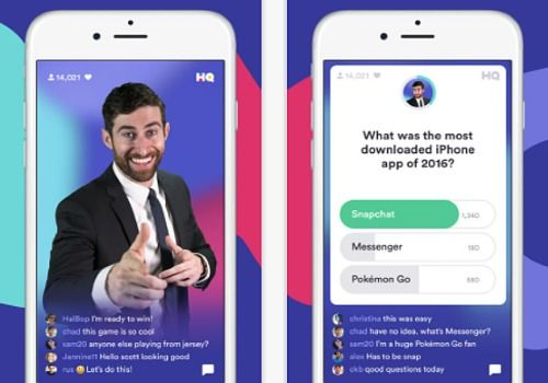 HQ - Live Trivia Game Show iOS Jeux