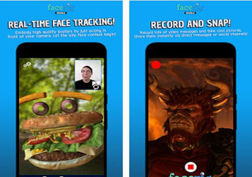 FaceRig Android  Jeux