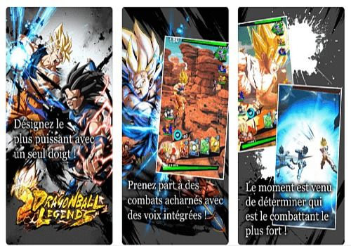 Dragon Ball iOS Jeux