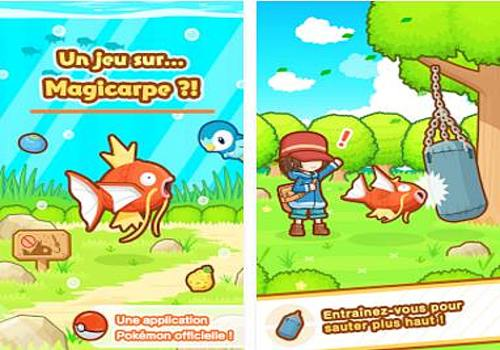 Pokemon: Magicarpe Jump Android Jeux