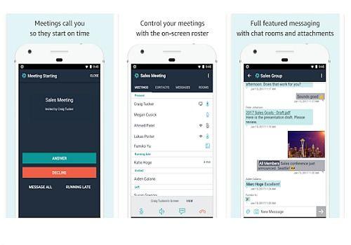 Amazon Chime iOS Internet