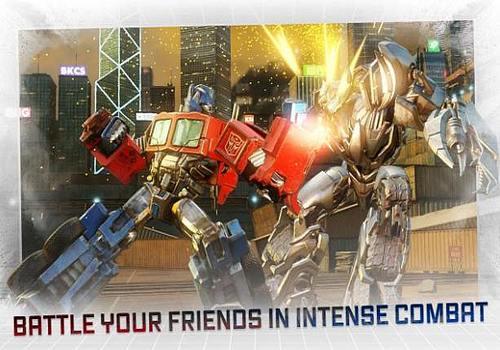 Transformers Forged to Fight Android Jeux