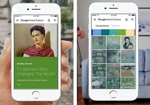 Google Arts et Culture pour iOS Maison et Loisirs