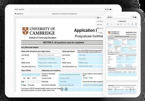 ONLYOFFICE Documents pour iOS Bureautique