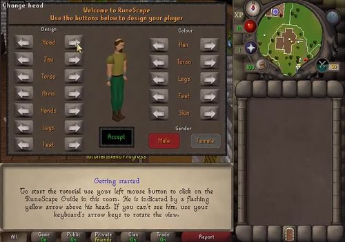 Old School Runescape Android Jeux