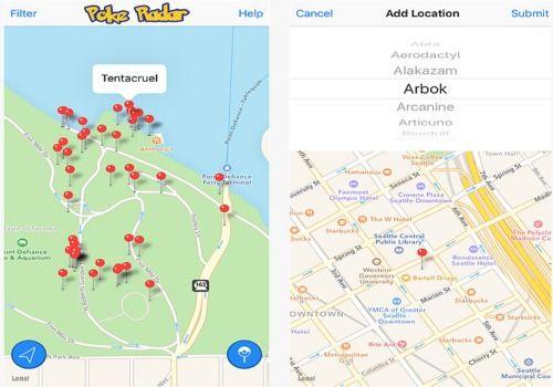 Poke Radar for Pokemon GO iOS Jeux