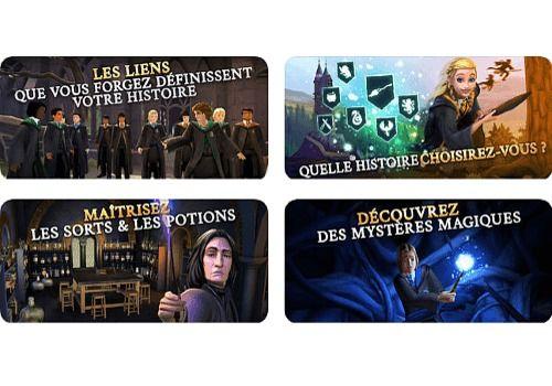 Harry Potter Hogwarts Mystery iOS Jeux