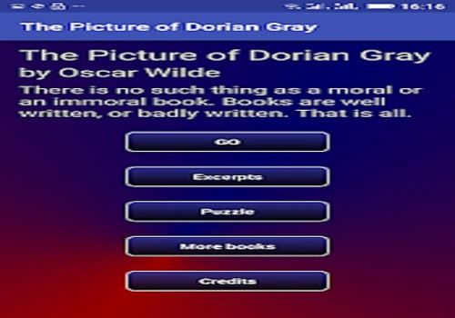 The Picture of Dorian Gray Education