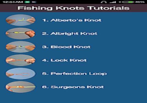 Fishing Knots Instruction Education