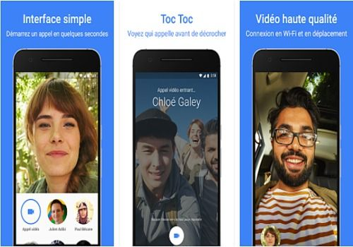 Google Duo iOS Internet
