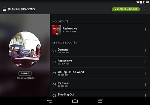 Spotify Android Multimédia
