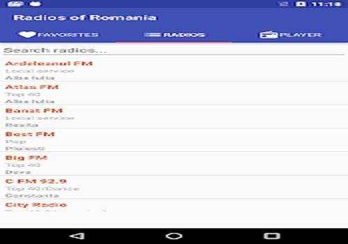 Radios of Romania Multimédia