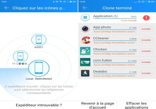 CLONEit - Batch Copy All Data Android Utilitaires
