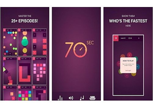 70 seconds Android Jeux