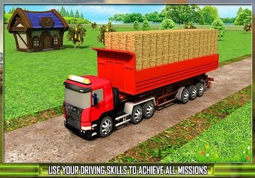 Farm Truck Silage Transporter Jeux