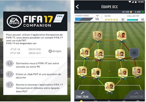 FIFA 17 Companion Android Jeux