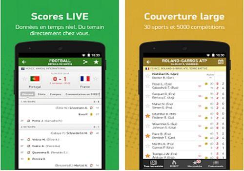 Flash Résultats Android Maison et Loisirs
