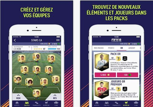 FIFA 18 Companion Android Jeux