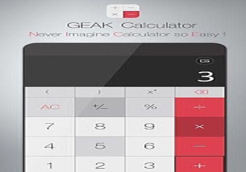 GEAK Calculator Bureautique