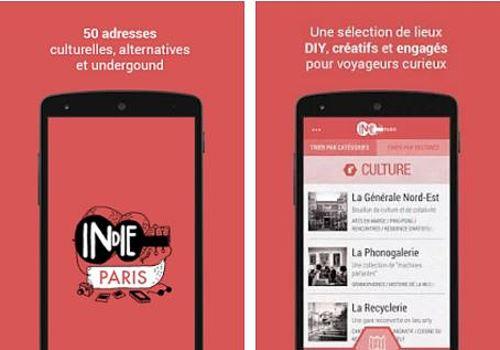 Indie Guides Paris Android  Maison et Loisirs