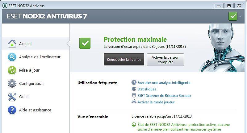 ESET NOD32 Antivirus 10 Sécurité & Vie privée