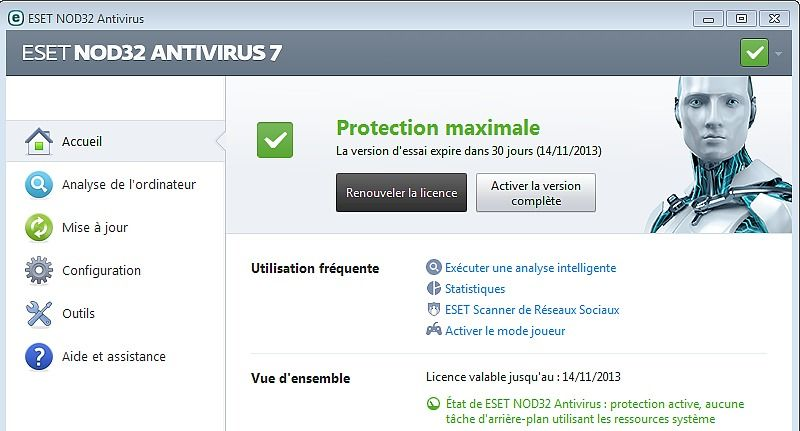 ESET Internet Security 10 (ex Smart Security) Sécurité & Vie privée