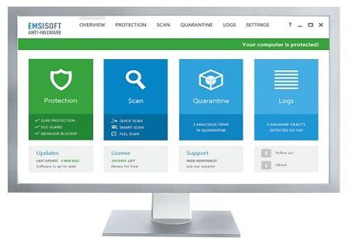 Emsisoft Anti-Malware Sécurité & Vie privée