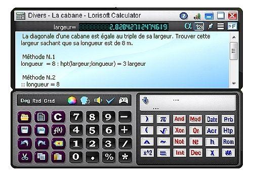 Lorisoft Calculator Bureautique