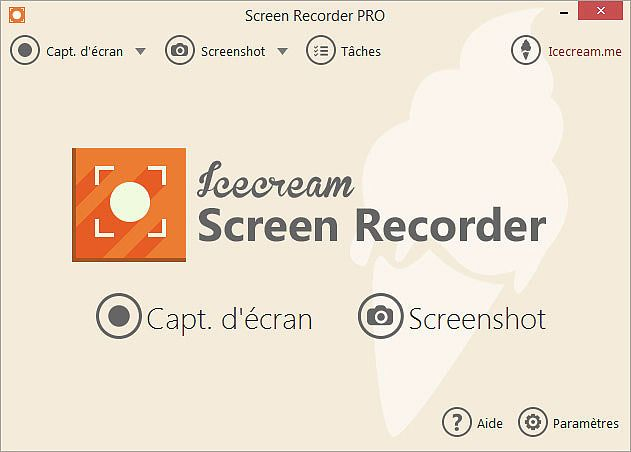 Icecream Screen Recorder 3.20 Multimédia