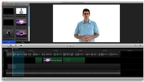 Camtasia for Mac Multimédia