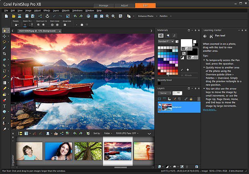 PaintShop Pro X9 Multimédia