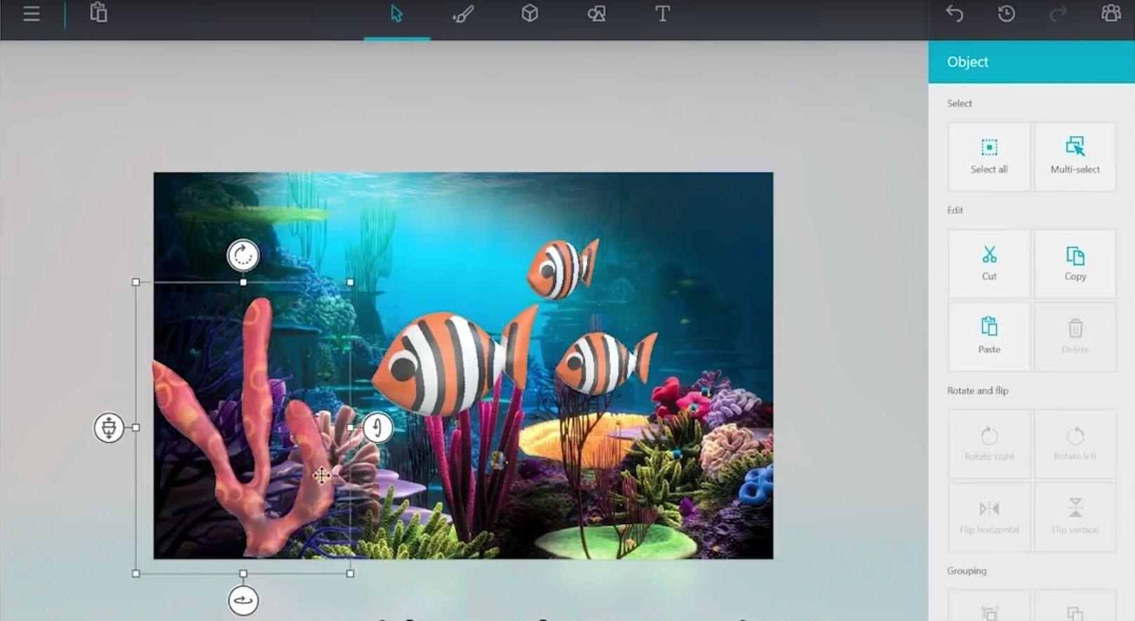Paint 3D Multimédia