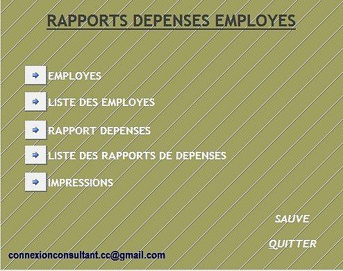 RAPPORTS-DEPENSES_EMPLOYES_2.0 Finances & Entreprise