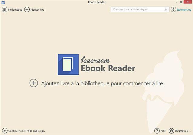 Icecream Ebook Reader 2.61 Education