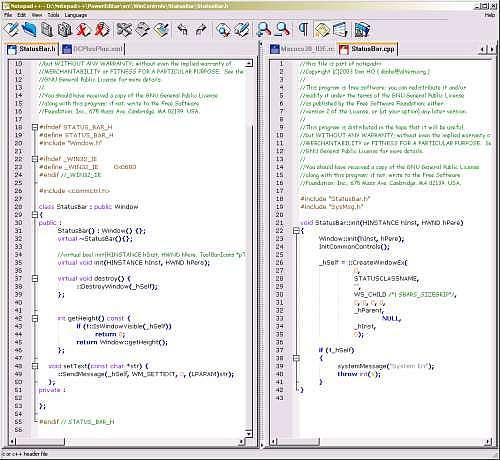 Notepad++ Programmation