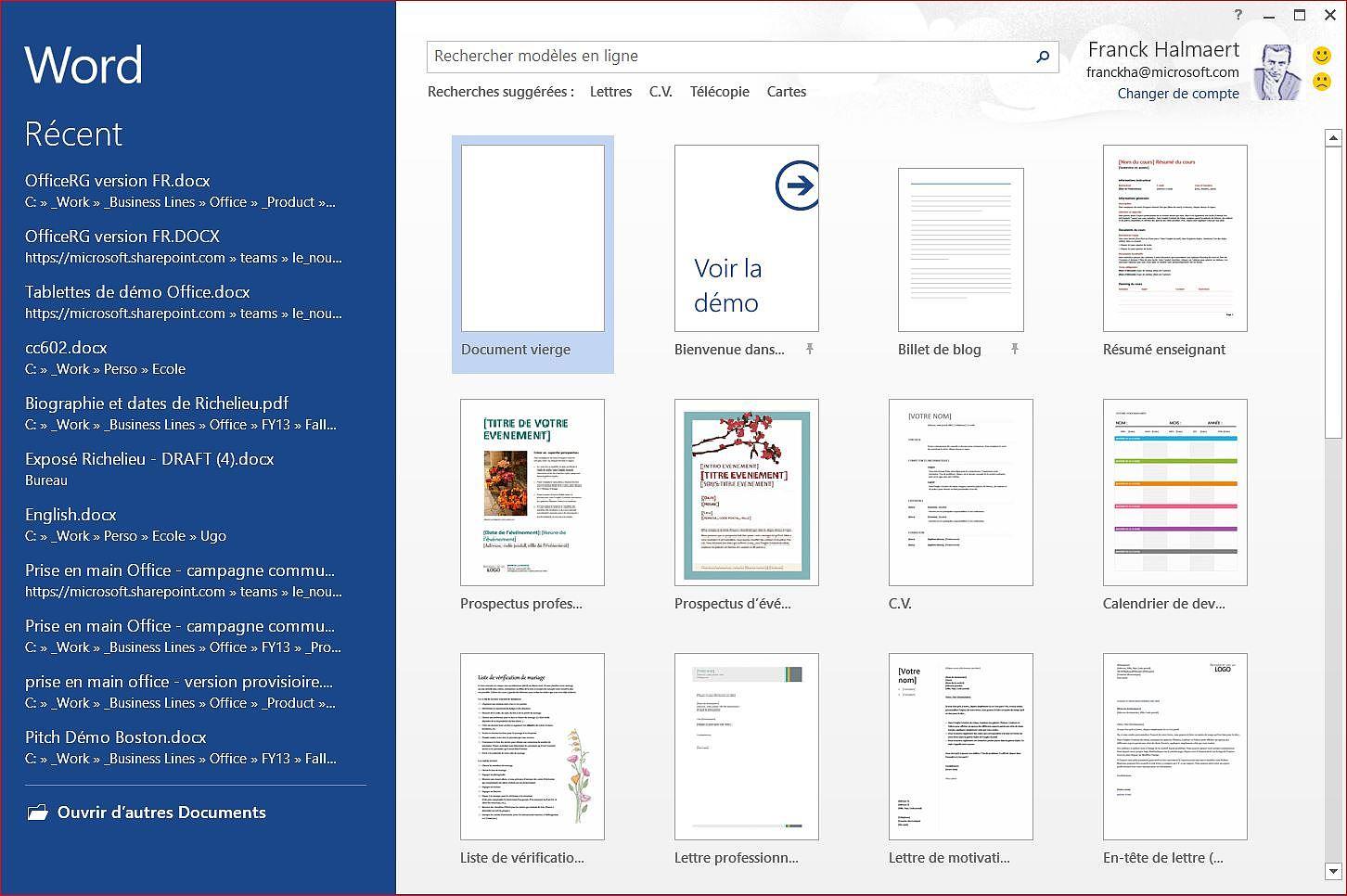 Microsoft Office Professionnel 2016 Bureautique