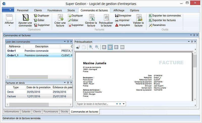 Super Gestion Finances & Entreprise