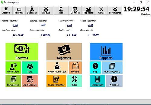GCaisse Recette depense Finances & Entreprise