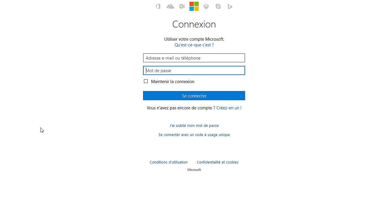 Outlook Internet